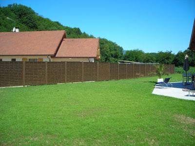 Am nagement ext rieur haute savoie annecy terrasse piscine murets for Cloture de jardin haute savoie